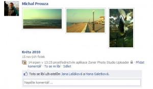 Upload fotek na Facebook - 5