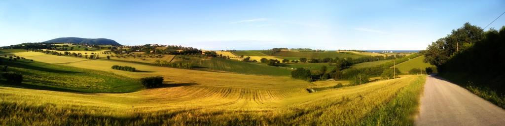 Panoramatická krajina