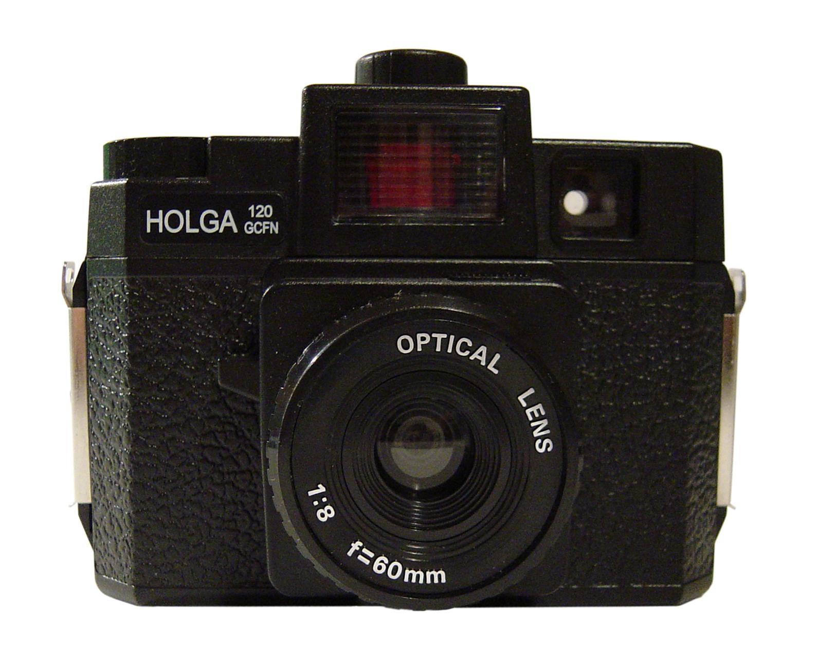 Fotoaparát Holga novější provenience se skleněnou čočkou