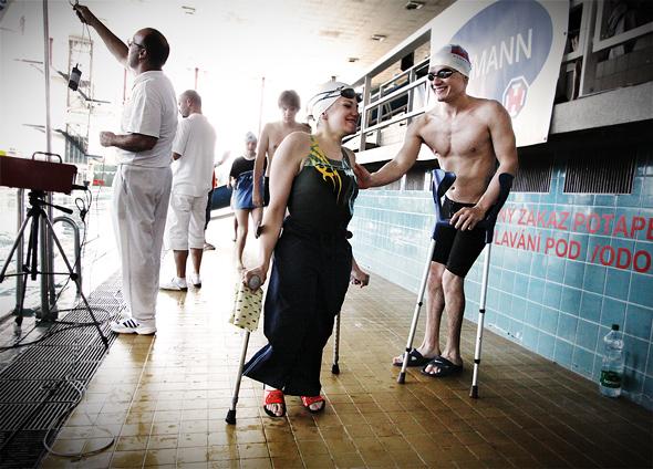 Z cyklu Swimmers with a disability