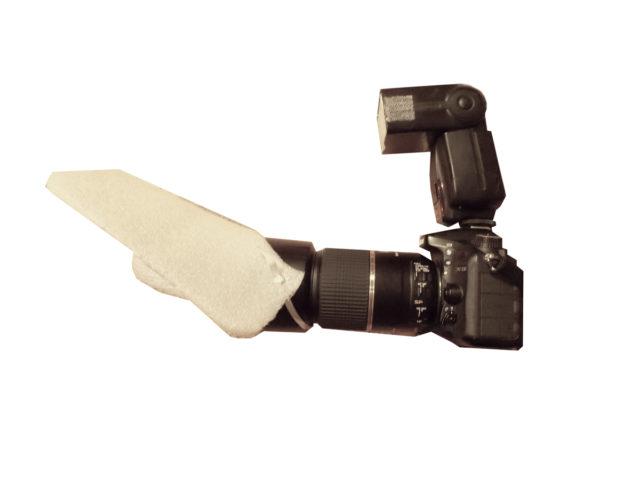 Sestava pro fotografování makra