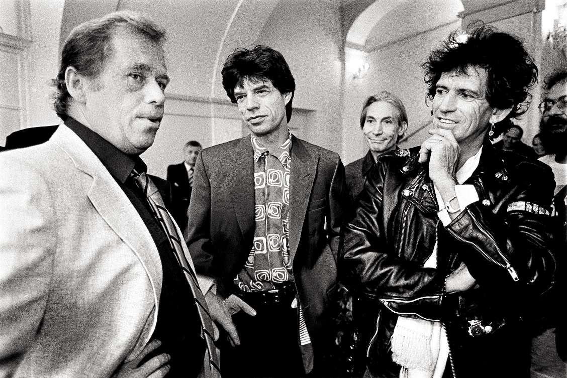 Rolling Stones a Václav Havel