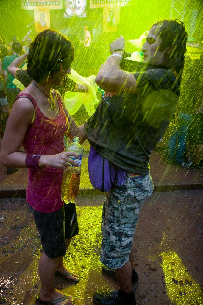 Trutnov v dešti