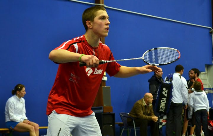 Adam Mendrek na MČR U-17, zdroj: http://www.badmintonweb.cz