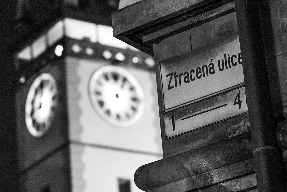 Třetí místo: Ulice ztracená v čase – autor Jakub Hutyra