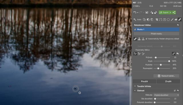 Jak na RAW: Retušování drobných chyb pomocí Zoner Photo Studia.