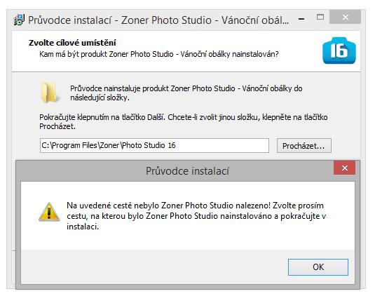 Pokud máte jinou verzi než ZPS 16 nebo ZPS nainstalované na nestandardním místě, stačí změnit adresu.jpg