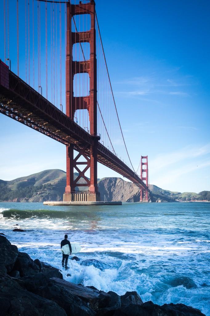 Pohlednici se slavným Golden Gate Bridge asi nebude takový problém sehnat, ale co když vy ho zkrátka vyfotíte jinak a lépe? (Autor: Jan Kupčík)