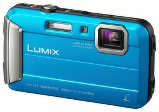 Panasonic Lumix DMC-FT25 lze dle údajů výrobce použít v hloubce do 7 m