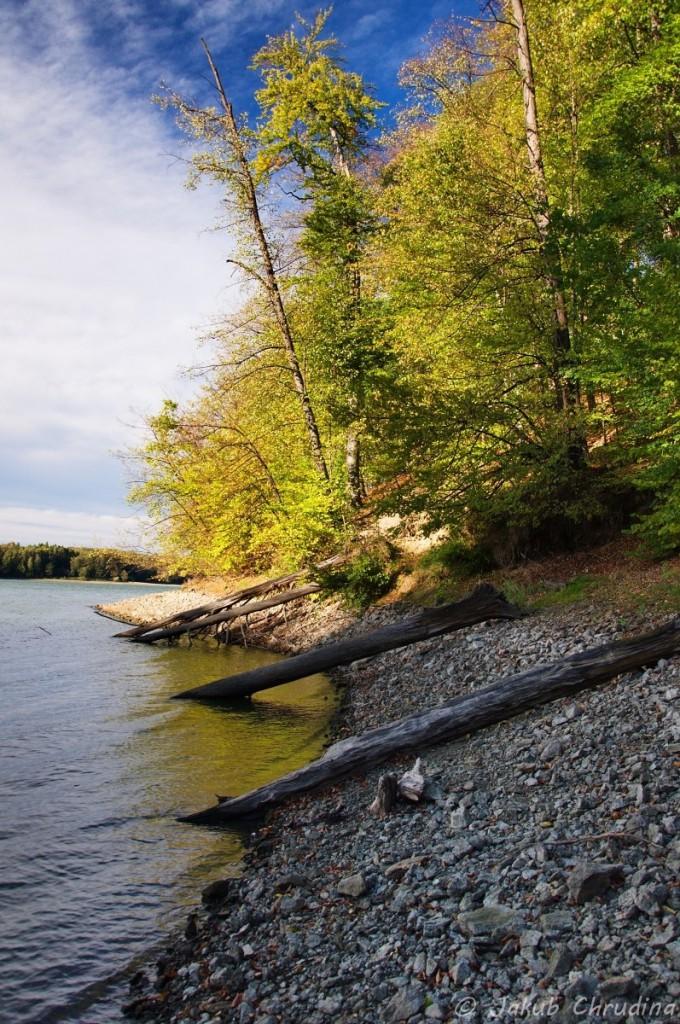 Krásné podzimní odpoledne u Těrlické přehrady. Nikon D90, Nikkor 18-105mm/3.5-5.6, CPL filtr, ohnisko 18mm, ISO 200, f 8, 1/125s