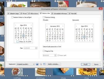 Změna času snímku vEXIF datech