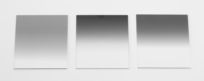 Tři přechodové filtry s různou tmavostí a typem přechodu.jpg