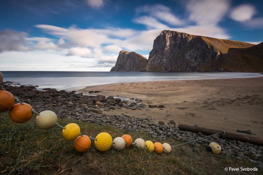 Písečné pláže, Lofoty, Norsko