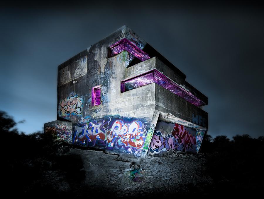 Malování světlem můžete využít jak pro drobné objekty při interiérovém focení, tak i pro tvorbu impozantních nočních fotografií krajiny a dalších velkých objektů. (Autor: Brent Pearson)