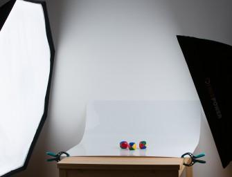 Fotografování produktů na bílém pozadí
