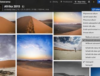 Zonerama na přání: Jak upravit profil, pás fotek a alba na Zoneramě