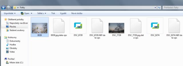informační soubor .data-zps