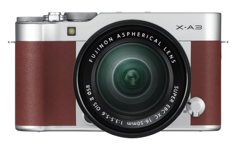 X-A3_Brown_16-50mm_front_07