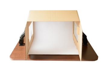Vyrobte si vlastní fotostan na fotografování produktů