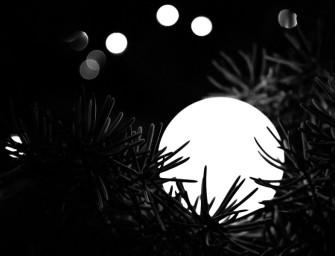 Černobílé Vánoce