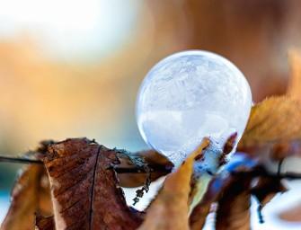 Hit letošní zimy: Vytvořte si zmrzlé bubliny