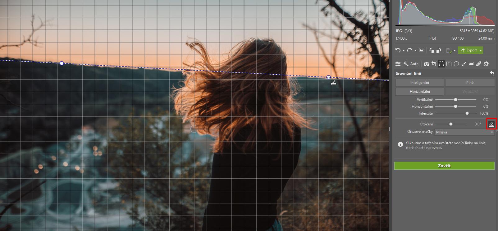 Fotografie nakřivo? Srovnejte si horizont a perspektivu - vodící linie