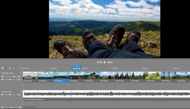 Jak vytvořit video z fotek