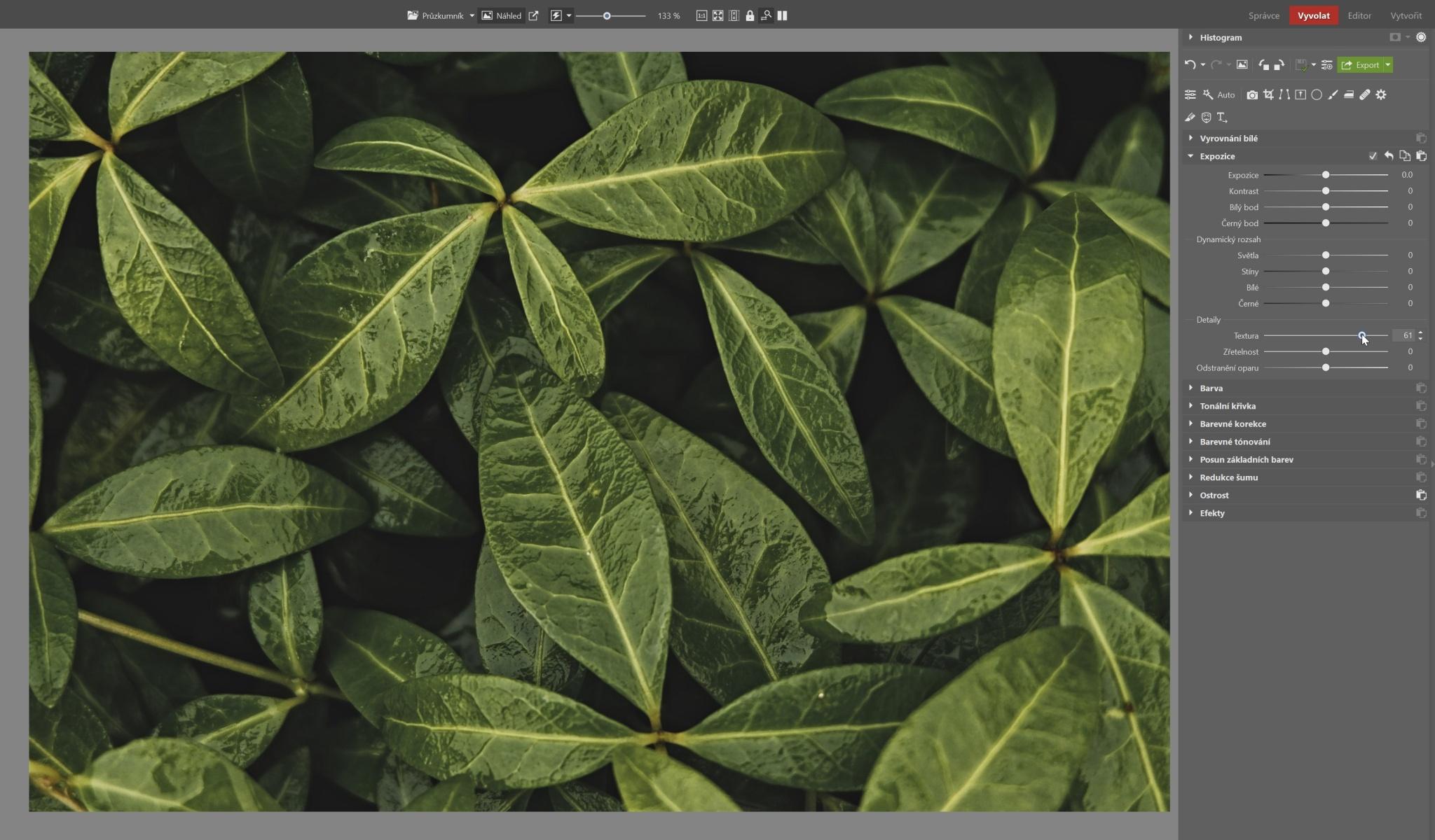 Dodejte svým fotkám dynamiku. Pomůže vám Zřetelnost a Textura