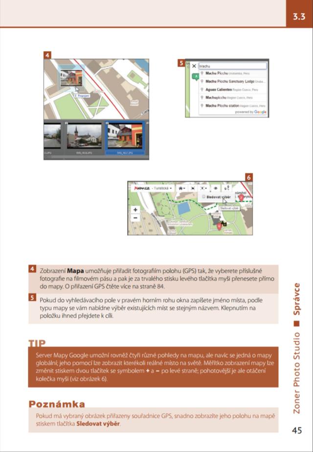 Ukázka z příručky k ZPS X
