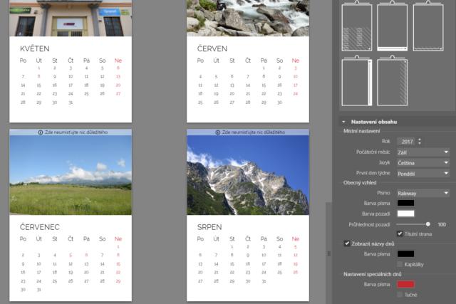 Tvorba vlastního kalendáře