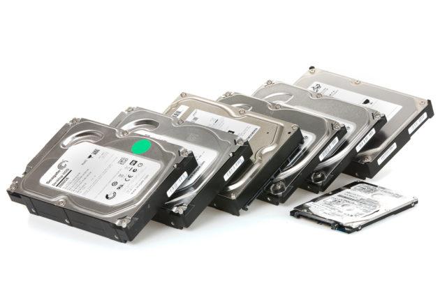 záložní disky pro zálohování fotografií