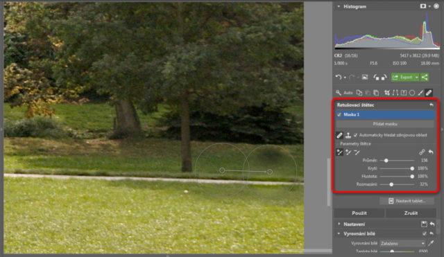 Úprava fotografií v protisvětle - retuš