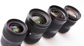 test objektivů Canon a Sigma
