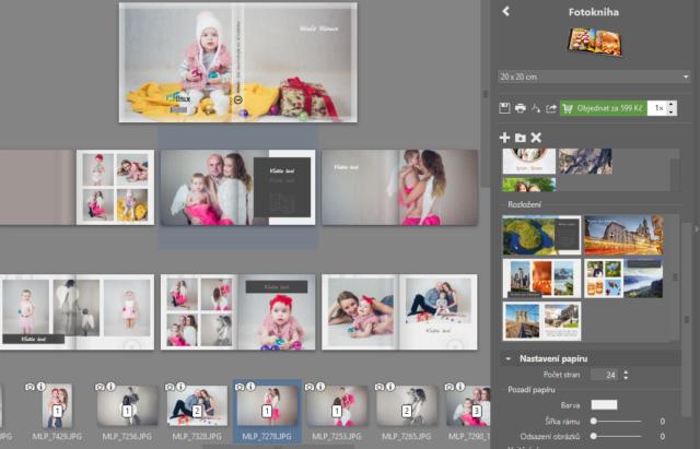 Vytvořte vlastní fotodárky: příprava fotoknihy.