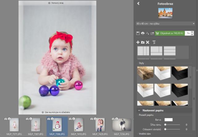 Vytvořte vlastní fotodárky: příprava fotoobrazu.