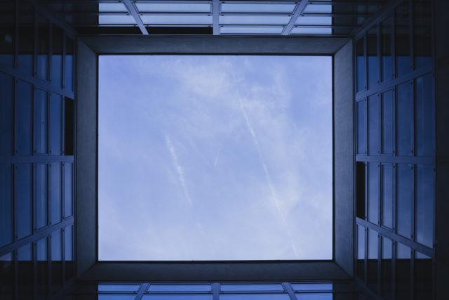 Jak fotit architekturu: pohledy nahoru a dolů.