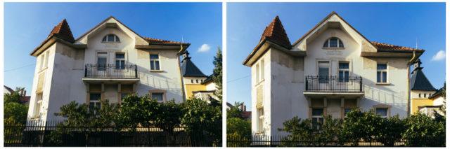 Jak fotit architekturu: vertikální linie.