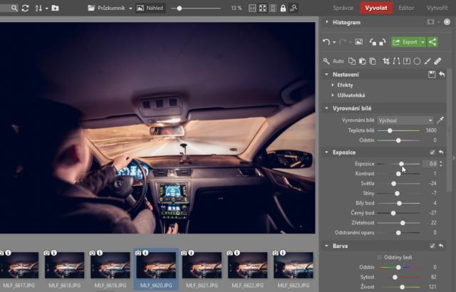 Timelapse: úprava fotografií pro časosběrné video.