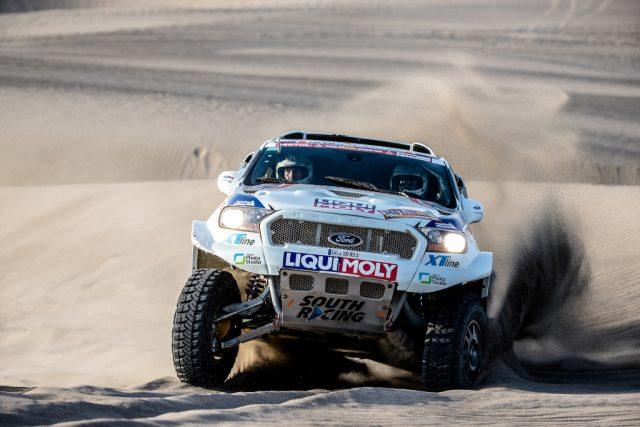 Focení Rallye Dakar: Ouředníček-Křípal 5. etapa