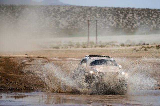 Focení Rallye Dakar: Ouředníček-Křípal 8. etapa