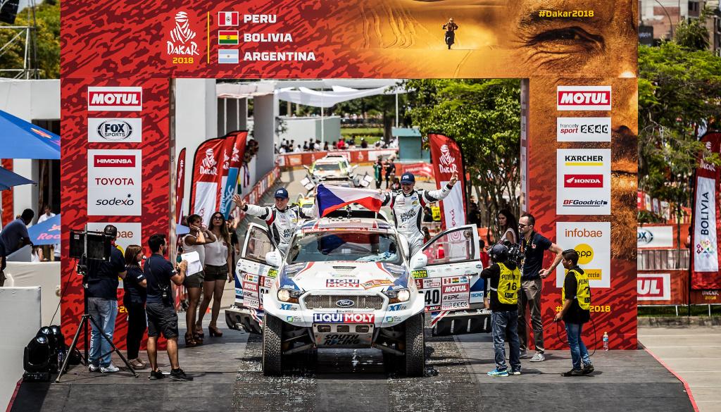 Focení Rallye Dakar: čekání, prach a peníze