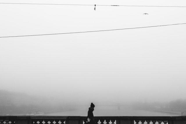 Focení města v zimě: minimalismus.