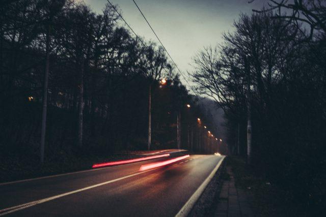 Focení města v zimě: světla.