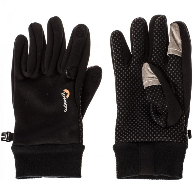 Jak fotit zimní sporty: fotografické rukavice.