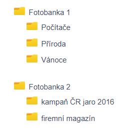 Organizace fotek: organizace fotobankových snímků