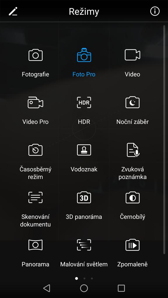 Jak fotit mobilem: režimy fotoaparátu v mobilním telefonu.