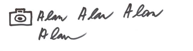 naskenovaný podpis