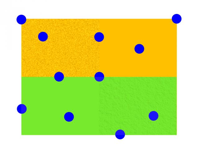 Možnosti retuše v ZPS X: vzorový obrazec.