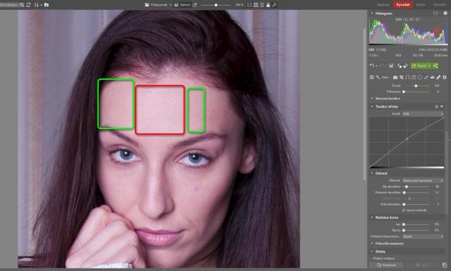 Jak upravovat portréty: upravení barevné teploty portrétní fotografie.