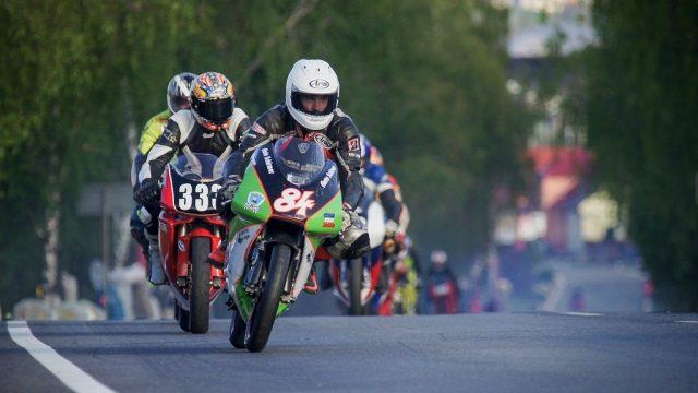 motocyklový závod